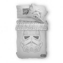 Bavlněné povlečení - Star Wars - šedé - 140 x 200 - Detexpol