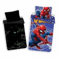 Bavlněné svítící povlečení - Spiderman - 140x200 - Jerry Fabrics