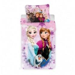 Dětské povlečení - Ledové Království 03 - růžové - 140 x 200 - Jerry Fabrics