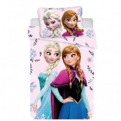 Bavlněné povlečení do postýlky - Ledové Království - Baby Floral - 100x135 - Jerry Fabrics