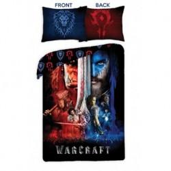 Bavlněné povlečení - Warcraft - černé - 140x200 - Halantex