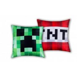 Polštářek - Minecraft - TNT - 40x40 cm - Halantex
