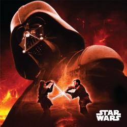 Polštářek - Star Wars - Darth Vader - 40x40 cm - Jerry Fabrics
