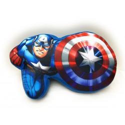 Tvarovaný polštářek - Avengers - 37x20 cm - Jerry Fabrics