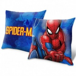 Polštářek - Spiderman - modrý - 40x40 cm