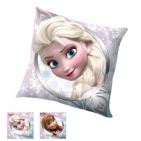 Polštářek - Ledové Království - Anna a Elsa - 40x40 cm