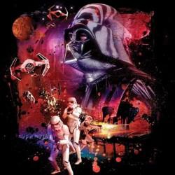 Povlak na polštářek - Star Wars 082 - Dark Power - 40x40 cm - Jerry Fabrics