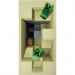 Osuška - Minecraft - 140x70 cm - Halantex