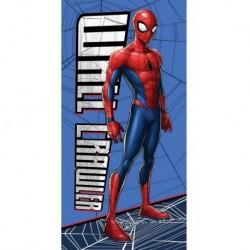 Osuška - Spiderman - modrá - 140x70 cm - Faro