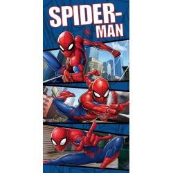Osuška - Spiderman - modrá 02 - 140x70 cm - Jerry Fabrics