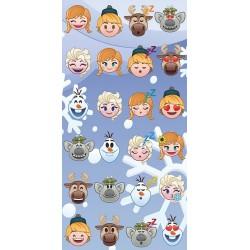 Osuška - Ledové Království - Emoji - 140x70 cm - Jerry Fabrics