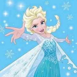Magický ručníček - Ledové Království - Elsa - 30x30 cm - Faro