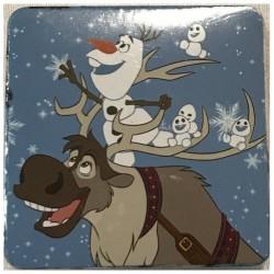 Magický ručníček - Ledové Království - Olaf a Swen - 30x30 cm - Faro