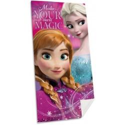 Osuška - Ledové Království - Anna a Elsa - 140x70 cm