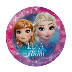 Tvarovaná micro osuška - Ledové Království - Anna a Elsa - 120 cm - Euroswan