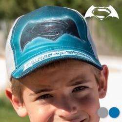 Dětská kšiltovka - Batman vs Superman - modrá - 53 cm