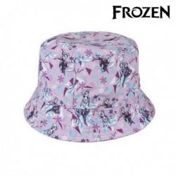 Dětský klobouk - Ledové Království - růžový - 52 cm
