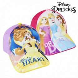 Dětská kšiltovka - Princezny Disney - fuchsiová - 53 cm