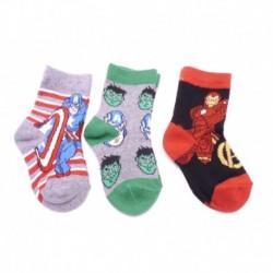 Dětské ponožky - Avengers 1 - 3 páry