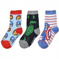 Dětské ponožky - Avengers - 3 páry