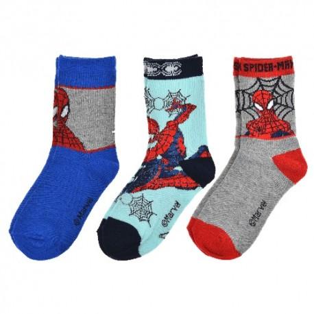 Dětské ponožky - Spiderman - 3 páry