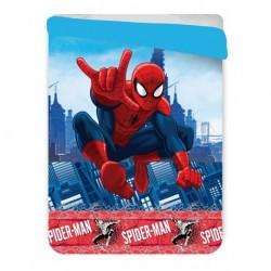 Letní prošívaná deka - Spiderman - 260x180 cm - Jerry Fabrics