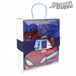 Sada - deka + ponožky + oční maska - Spiderman 79490