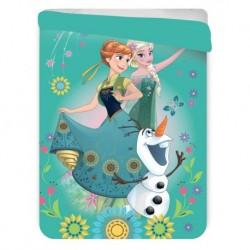 Letní prošívaná deka - Ledové Království - zelená - 260x180 cm - Jerry Fabrics