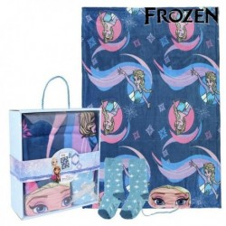 Sada - deka + ponožky + oční maska - Frozen 79469
