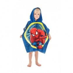Dětské pončo s kapucí - Spiderman 2016 - 120x60 cm - Jerry Fabrics