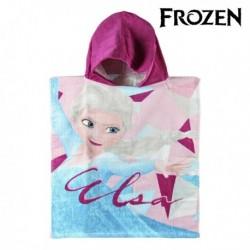 Dětské pončo s kapucí - Ledové Království - 115x50 cm
