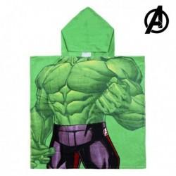 Dětské pončo s kapucí - The Avengers - Hulk - 120x60 cm