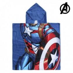 Dětské pončo s kapucí - The Avengers - Captain America - 120x60 cm