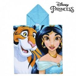 Dětské pončo s kapucí - Disney Princesses - Jasmin - 120x60 cm