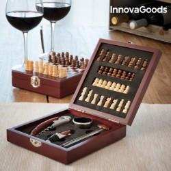 Set na víno a šachy - 37 částí - InnovaGoods