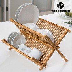 Bambusový odkapávač na nádobí - TakeTokio