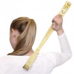 Masážní bambusové drbátko na záda - 46 cm