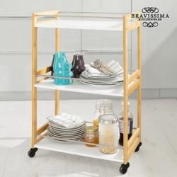 Servírovací stolek  z bambusu - Bravissima Kitchen