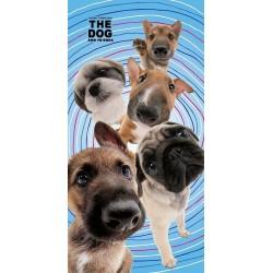 Osuška - The Dog - Psí přátelé - 140x70 - Detexpol
