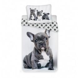 Bavlněné povlečení - Bulldog - 140x200 - Jerry Fabrics