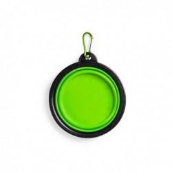 Skládací miska pro pejsky - zelená