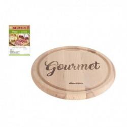 Dřevěné kuchyňské prkénko Gourmet - 24 cm - Quttin