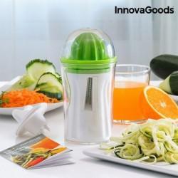 Kráječ zeleniny s lisem na citrusy 4v1 - InnovaGoods