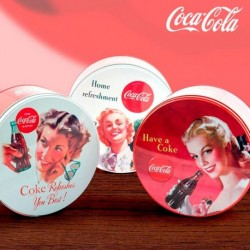 Plechová retro krabice Coca-Cola