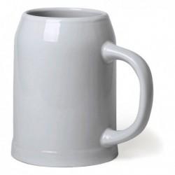Džbán na pivo - 700 ml - bílý