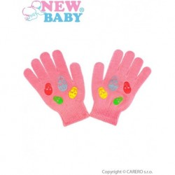 Dětské zimní rukavice pro holky - New Baby Girl