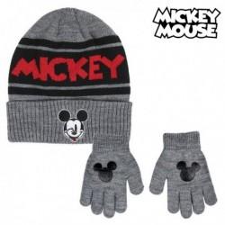 Čepice a rukavice - Mickey Mouse - černá