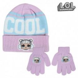 Čepice a rukavice - LOL Surprise! - fialová