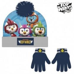 Čepice a rukavice - Top Wing - námořnická modrá