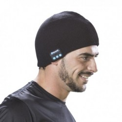 Sportovní čepice s Bluetooth - černá